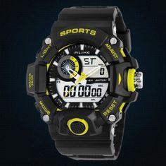 Pánské moderní sportovní hodinky žluté – pánské hodinky Na tento produkt se  vztahuje nejen zajímavá sleva a17e3e10d6
