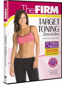 The Firm: Zero in Ten DVD Exercise Fitness Aerobics Video Cardio Abs Tone Sculpt Lose 10 Pounds In A Week, Losing 10 Pounds, 5 Pounds, Aerobics Videos, 10 Minute Workout, Month Workout, Body Challenge, Weight Loss Program, Lose Belly Fat