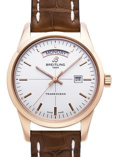 Breitling Transocean Day & Date R4531012.G752.740P.R20D.1 Rotgold