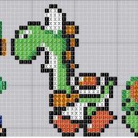 Check out these cool Super Mario bros. Whether you are wanting to cross stitch, knit or you just need a good Mario pixel pattern we can help you out! Just Cross Stitch, Cross Stitch Charts, Cross Stitch Patterns, Perler Patterns, Quilt Patterns, Knitting Patterns, Perler Bead Mario, Perler Beads, Mario Crafts