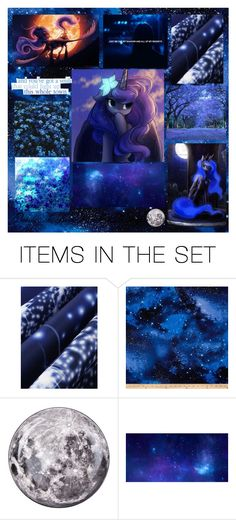 """~🌑💜Behold The Real Princess Of The Night💙🌑~"" by queen-wonderland ❤ liked on Polyvore featuring art"