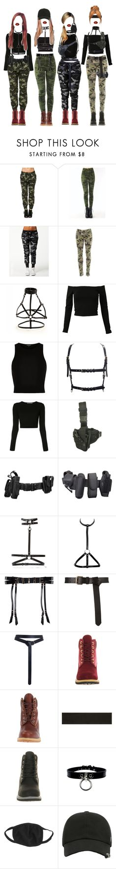 """CAPRICORN _ POWER"" by xxeucliffexx ❤ liked on Polyvore featuring Zoe Karssen, Black Orchid, Anita Nemkyova, River Island, Rosetta Getty, Zana Bayne, POLICE, Bordelle, Zimmermann and Timberland"