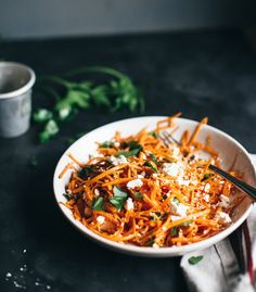 Sweet and Spicy Carrot Salad