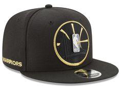 Golden State Warriors New Era NBA Playoff Push 9FIFTY Snapback Cap