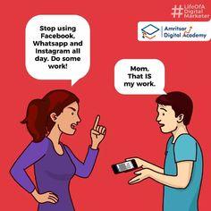 The life story of a digital marketer. Marketing Meme, Social Media Marketing Courses, Digital Marketing Strategy, Online Marketing, Startup Branding, Ecommerce, Fun Facts, Memes, Advertising Design