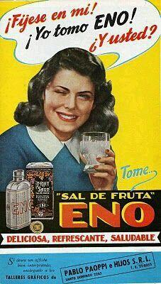 Sal de Frutas Eno- Deliciosa, refrescante y saludable.