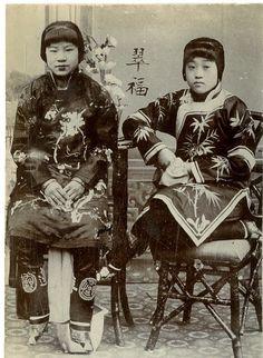 Vintage photo of Chinese girls Vintage Photos Women, Vintage Photographs, Vintage China, Old Pictures, Old Photos, China People, Asian History, China Girl, Ancient China