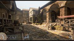 Resultado de imagem para clay houses medieval age art fantasy