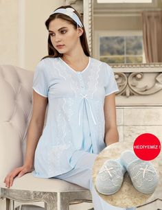 Night Gown Dress, Dress Up, Womens Pyjama Sets, Pregnancy Outfits, Feminine Style, Pyjamas, Nightwear, Pajama Set, Evening Gowns