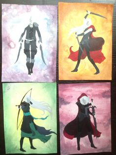 Minimalist Throne of Glass Covers by BlueberryBlooms on Etsy