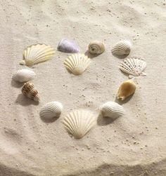 Hearts bye the sea Summer Breeze, Summer Fun, Summer Time, Summer Beach, Beach Bum, Coral, I Love The Beach, Am Meer, Beach Cottages
