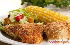 Crispy Baked Chicken Nuggets Recipe via @SparkPeople