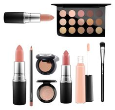 """Top MAC products"" by mckenzie-faith ❤ liked on Polyvore featuring beauty and MAC Cosmetics"