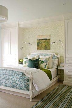 M s de 1000 ideas sobre ropa de cama de color verde en - Como pintar dormitorio juvenil ...