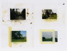 Gerhard Richter, Landschaften (Landscapes),  1986, 51.7 cm x 66.7 cm, Atlas Sheet: 448