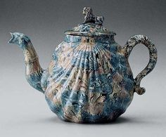 18th Century English Agateware Teapot