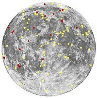 Wikipedia article about Transient lunar phenomena