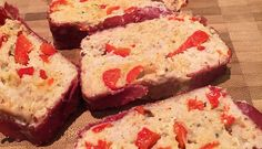 Gezond gehaktbrood met kippengehakt