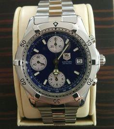 Tag Heuer 2000 Automatic Chronograph CK2111 RARE Classic Many EXTRAS | eBay