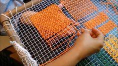 Bordado Filé: Aula 7 - Ponto cerzido Blackwork Embroidery, Needle Lace, Filets, Paper Dolls, Fiber Art, Diy And Crafts, Sewing, Projects, Handmade