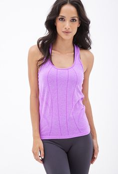 Open-Knit Cardio Tank - Activewear - 2000102768 - Forever 21 UK