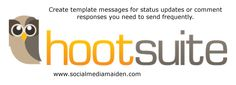 Create template messages for status updates or comment responses that you send frequently. Save yourself some time!