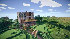Modern House Minecraft Shaders