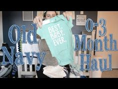 Old Navy 0-3 Month Spring/Summer 2016 Haul - YouTube