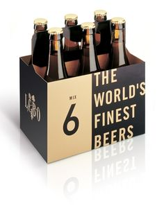 LCBO by Blok Design, a six-pack assortment of the world's finest beers