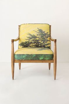 $1598 Lets be honest - this #forest inspired #chair from #anthropologie would probably be under appreciated though I love it.