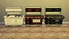 CC FOR SIMS 4: COUNTRY STOVE