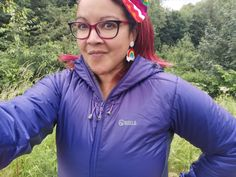 GEAR | Versatile & Flattering, We Review The Women's Keela Talus Jacket #keela #jacket #walking #hiking #outdoors #gear #campingwithstyle #review #purple #jackets #coats