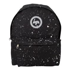 Hype Men's Speckle Backpack, Black (£30) ❤ liked on Polyvore featuring men's fashion, men's bags, men's backpacks and mens backpack