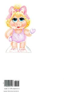 """MUPPET BABIES """"Miss Piggy"""" 1984 Henson Associates, Inc., 2 of 7"""