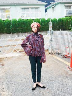 東京it girlsの着回しリレー/Vol.58 安藤ニコ | FASHION | ファッション | VOGUE GIRL