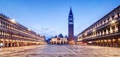 Empty St Mark's Square at Dawn - Venice