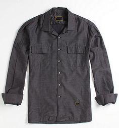 Freshjive Slick Long Sleeve Woven Shirt - PacSun.com