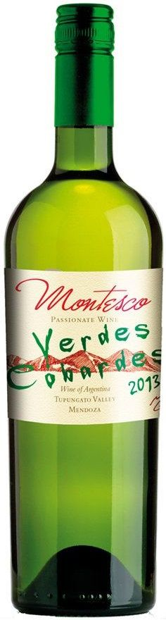 """Montesco Verdes Cobardes"" 43% Sauvignon Blanc / 35% Semillon / 12% Viognier /10% Chardonnay - Passionate Wine, Tupungato, Mendoza----------------Terroir: Tupungato--------------------- Sin paso por madera"