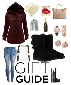 """""""My sisters winter trip gifts."""" by captgdl on Polyvore featuring WithChic, UGG, Coal, MANGO, Jouer, Rodial, Burberry, Superdry, Marc Jacobs and Jessica Carlyle"""