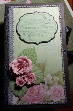 Forever Paperbag Journal. Scrapbooking journal by ReneesOdyssey