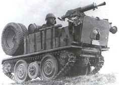 ADMK Mulus machine gun carrier