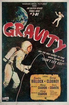 movie gravity | Alternative Movie Posters For Gravity