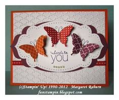 Elegant Butterfly Punch SUO by mraburn - Cards and Paper Crafts at Splitcoaststampers