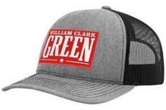 5f2e2b37a84 Image of Gray   Black WCG Red Patch Hat