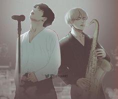 Sempre juntos no amor e na música #vkookforever