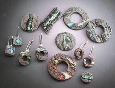 glitterrocks by LizardsJewelry, via Flickr