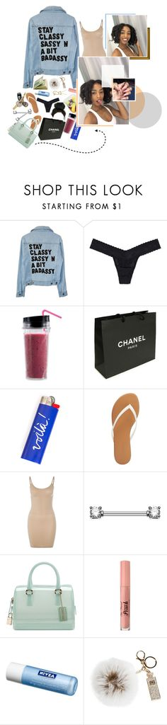 """xxx. ❛ they love the way I walk; cause I walk with a vengeance. ❜"" by ba-ckwoods ❤ liked on Polyvore featuring Victoria's Secret, Chanel, Charlotte Russe, Magic Body Fashion, Tt Collection, Furla, Too Faced Cosmetics, Nivea and Overland Sheepskin Co."
