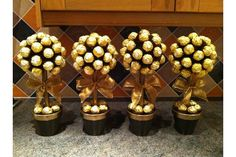 ferrero rocher tree diy - Google Search