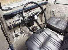 Toyota's Land Cruiser FJ40. This one circa 1968