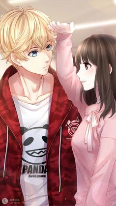 Couple romance · i really like this for no specific reason. Anime Couples Drawings, Anime Couples Manga, Cute Anime Couples, Love Drawings Couple, Couple Manga, Anime Love Couple, Manga Anime, Anime Art Girl, Anime Girls